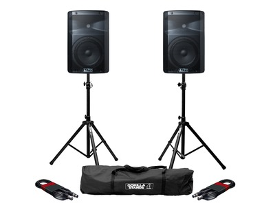 Alto TX208 with Stands & XLR Cables