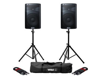 Alto TX210 with Stands & XLR Cables