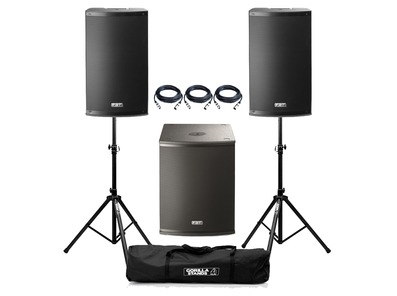 FBT X-2500 Active PA System Package