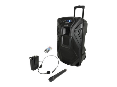 QTX Busker 15U Portable PA Speaker