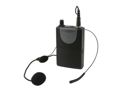 QTX Neckband Mic + Beltpack for QXPA-Plus and PAV8 864.8MHz