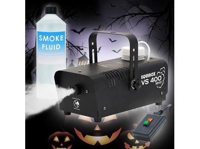 Equinox VS400 MKII Smoke Machine w/ 1 Litre Fluid
