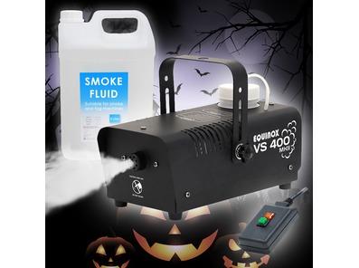 Equinox VS400 MKII Smoke Machine w/ 5L Fluid