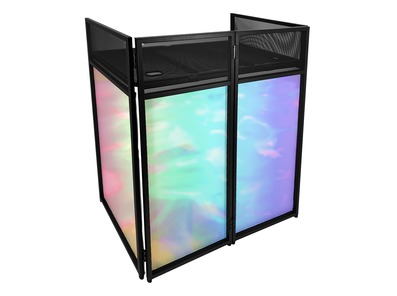 Gorilla Compact Foldable Home DJ Booth Deck Stand
