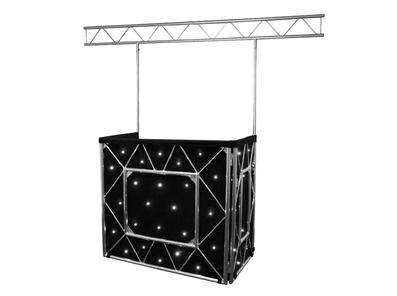 Equinox Truss Booth System + Overhead Kit & Starcloth