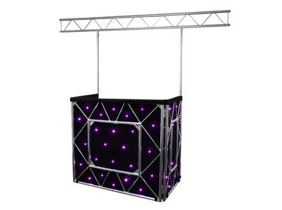 Equinox Truss Booth System + Overhead Kit & Quad LED Starcloth