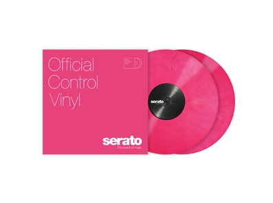 Serato 12 inch Control Vinyl Standard Colours (Pair) Pink