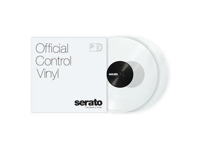 Serato 12 inch Control Vinyl Standard Colours (Pair) Clear