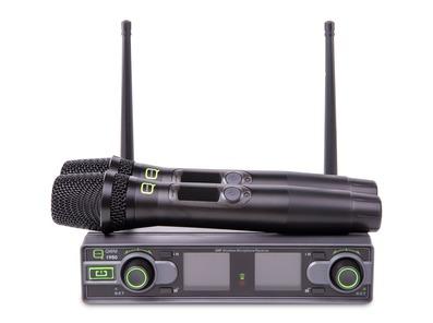 Q-Audio QWM 1950 HH Wireless Mic System (606 - 614MHz)