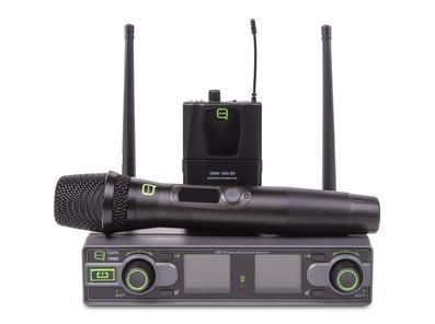 Q-Audio QWM 1950 HH + BP Wireless Mic System (606 - 614MHz - CH38)