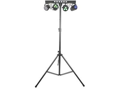 QTX Stage Bar (LED PAR Bar With FX, Laser and UV/Strobe)