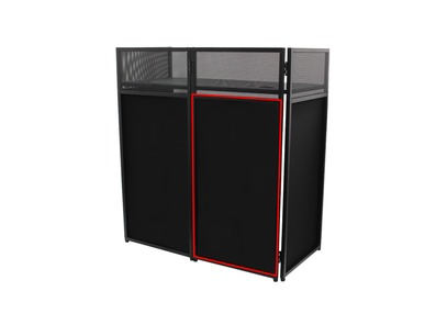 Equinox Combi Booth System Replacement Black Lycra Set