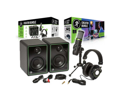 Mackie Creator Bundle for Home Recording