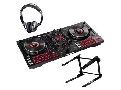 Numark Mixtrack Platinum FX w/ Headphones & Laptop Stand