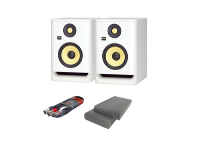 KRK RP5 G4 with Gorilla Isolation Pads + Cable