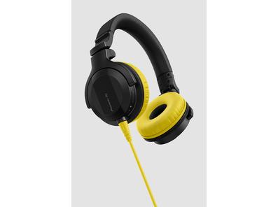 Pioneer HDJ-CUE1 Headphones With Yellow Accessory Pack