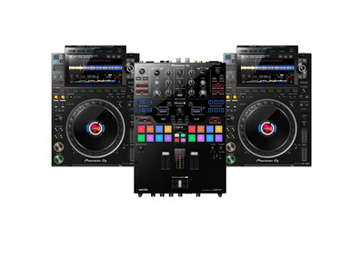 Pioneer CDJ-3000 (x2) + DJM-S9 with Cable
