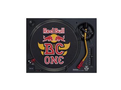 Technics SL-1210 MK7-R Turntable Red Bull Edition