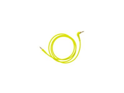 AIAIAI TMA-2 - C11 Neon Yellow Woven (1.2m) Cable