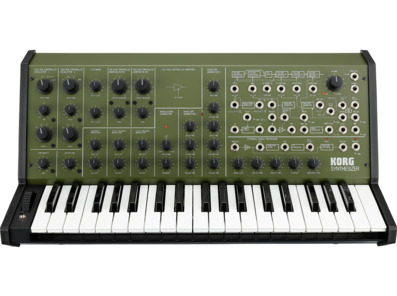 Korg MS20FS Analogue Synthesizer Khaki
