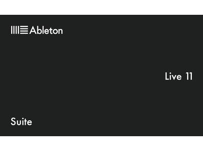 Ableton Live 11 - Suite Software