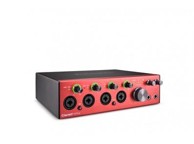 Focusrite Clarett+ 4Pre Audio Interface