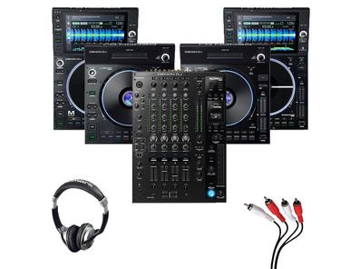 Denon LC6000 (x2) + SC6000M (x2) + X1850 with Headphones + Cable