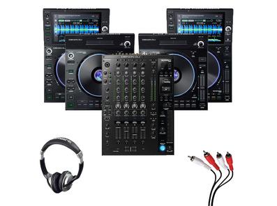 Denon LC6000 (x2) + SC6000 (x2) + X1850 with Headphones + Cable