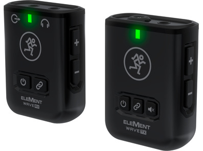 Mackie Element Wave LAV Wireless Clip-On Mic System