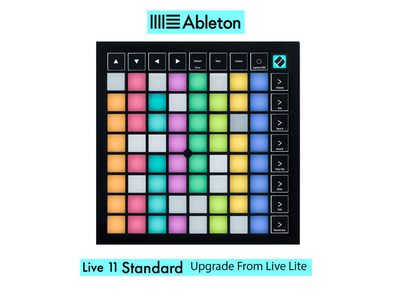 Launchpad X w/ Live 11 Standard UPG from Live Lite