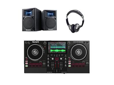 Numark Mixstream Pro Controller + N-Wave 360 + Headphones