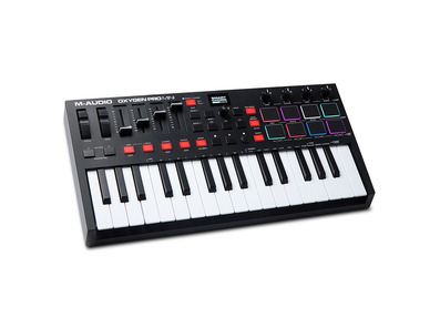 M-Audio Oxygen Pro Mini MIDI Controller