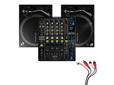 Pioneer PLX-500 and DJM900 NXS2 Turntable Package