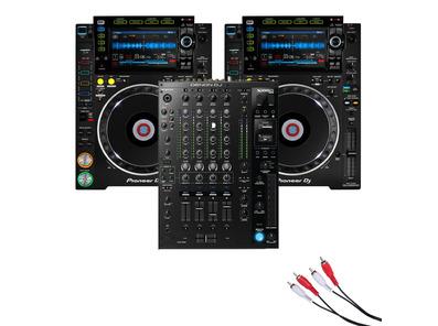 Pioneer CDJ-2000 NXS2 & DJM-750 MK2 Mixer Package