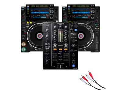 Pioneer CDJ-2000 NXS2 and Pioneer DJM-450 Package