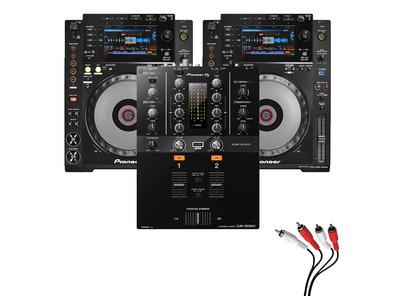 Pioneer CDJ900 Nexus & DJM-250MK2 Mixer Package