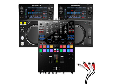 Pioneer XDJ-700 and DJM-S9 Package