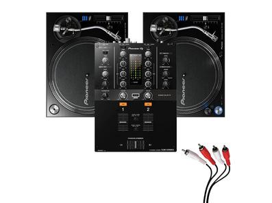Pioneer PLX-1000 Turntable & DJM-250MK2 Mixer Package