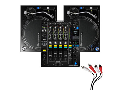 Pioneer PLX-1000 and Pioneer DJM-900 NXS2 Mixer Package
