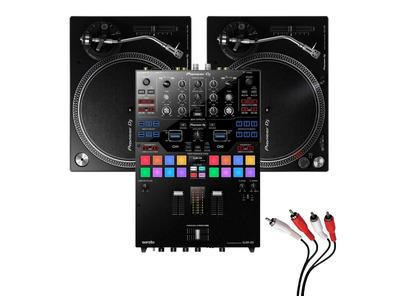 Pioneer PLX-500 and DJM-S9 Turntable Package
