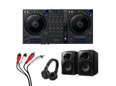 Pioneer DDJ-FLX6 + VM-50 w/ Headphones + Cable