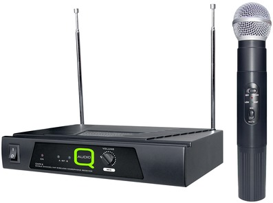 Q-Audio QWM 6 VHF Wireless Mic System (173.8 MHz)