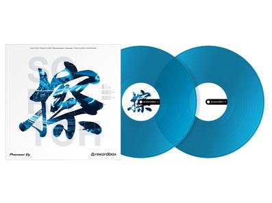 Pioneer RB-VD2-CB Rekordbox Control Vinyl (Set of 2) Clear Blue