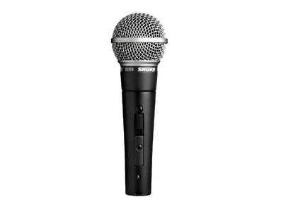 Shure SM58 Dynamic Microphone Inc Switch