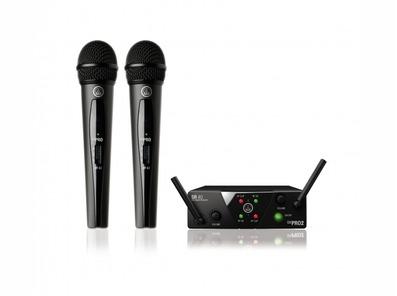 AKG WMS40 Mini Pro 2 Dual Wireless Microphone Set
