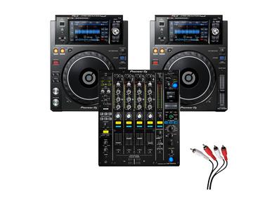 Pioneer XDJ-1000 MK2 and Pioneer DJM-900 NXS2