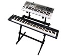 Gorilla GKS-500 2-Tier Keyboard / Piano Stand Workstation