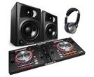 Numark Mixtrack Pro 3 with M-Audio AV32 Speakers Package