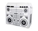 Equinox DJ Booth Boom Box Design Lycra Cloth