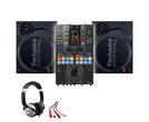 Technics SL-1210 MK7 (x2) + Pioneer DJM-S11 SE w/ Headphones + Cable